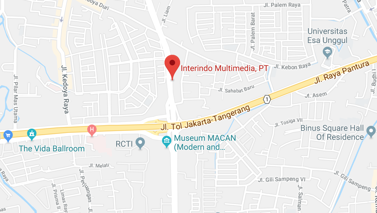 Google Map of interindo multimedia